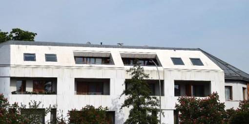 Čištění betonových fasád