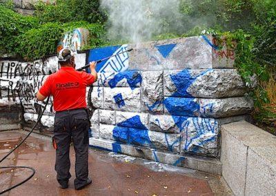 Ochrana a odstranění graffiti 03