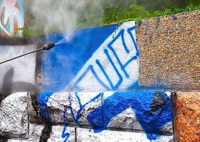 Ochrana a odstranění graffiti 05
