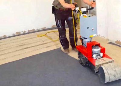Odstranění a stržení podlah 03