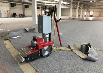 Odstranění a stržení podlah 08